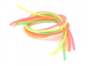 2.5mm Soft Tube - Fluorescent Colours