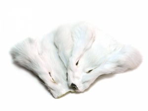 White Shadow Fox Mask