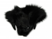 Black Shadow Fox Mask
