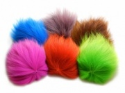 Dyed Marble Fox Tail