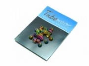 Tubeworx Brass Cones - Anodised Rainbow