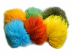 Dyed Shadow Fox Tail