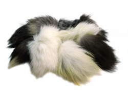 Natural Fox Tail Offcuts
