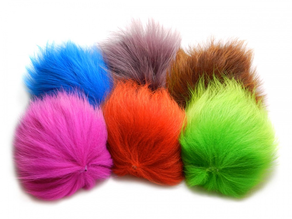 Dyed Marble Fox Tail Foxy Tails Co Uk