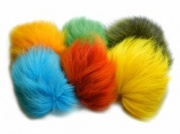 Dyed Shadow (Arctic) Fox Tail