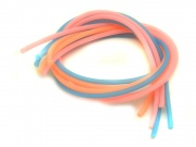 2.5mm Soft Tube - UV Glow in the Dark Colours