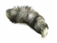 Indigo Fox Tail - Natural